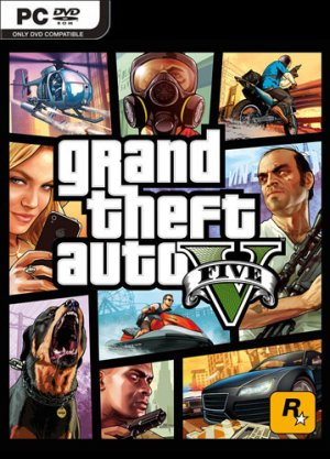 GTA 5 / Grand Theft Auto V (2015) Crack by 3DM v.3
