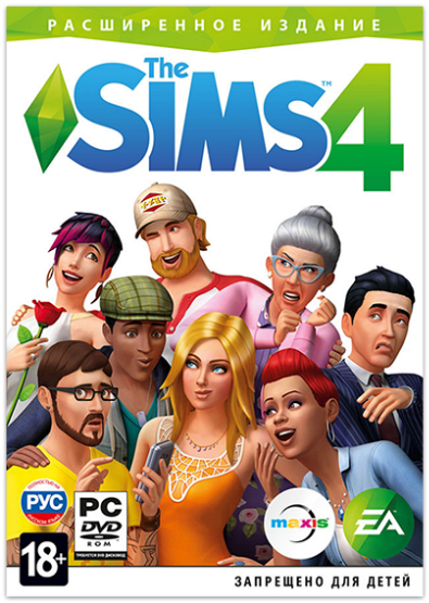 The Sims 4: Deluxe Edition (со всеми дополнениями) PC | RePack от xatab